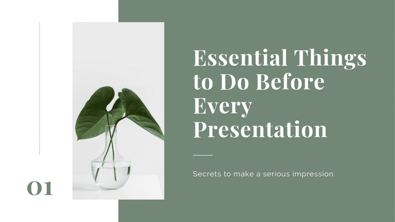 Free Presentation Slides Maker Canva