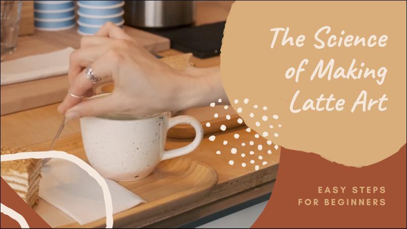 Orange, Cream and Terracotta Freestyle Art Cooking Youtube Intro