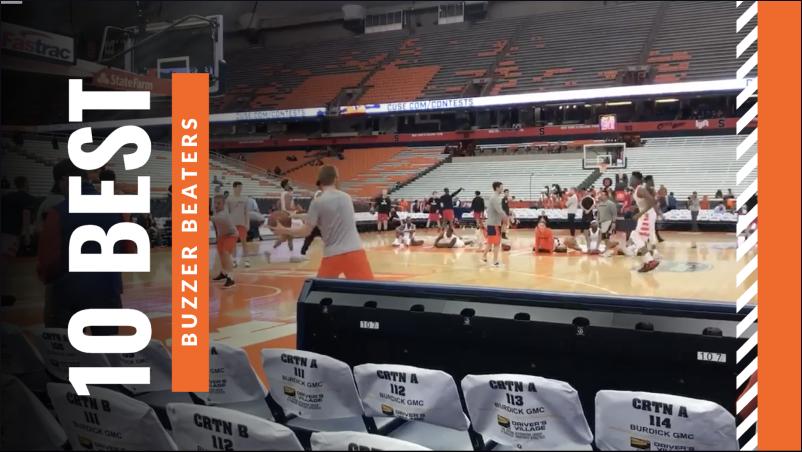 White and Orange Basketball Sports Youtube Video Intro