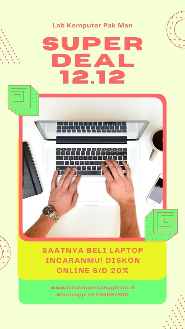 Your Story Laptop Harbolnas Kuning Hijau