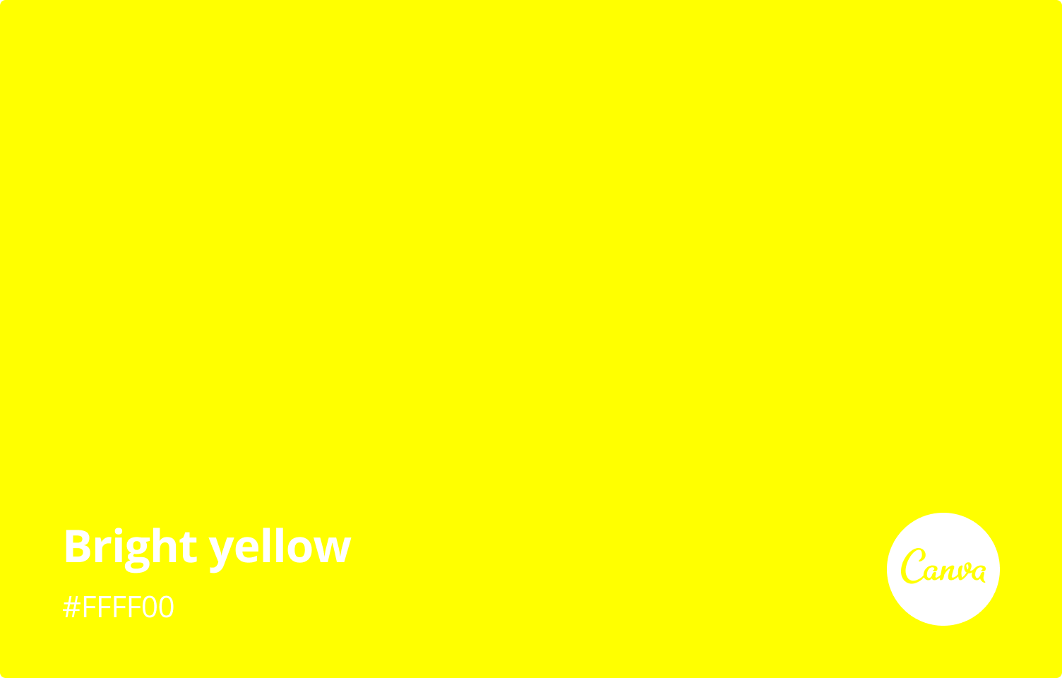 bright-yellow