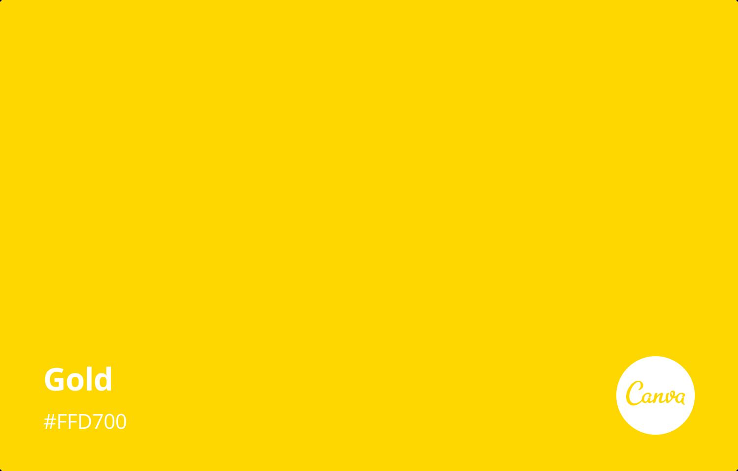 كود اللون الذهبي Cmyk